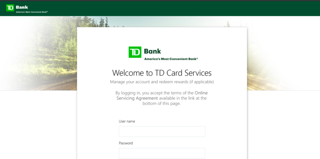Tdcardservices Com Login